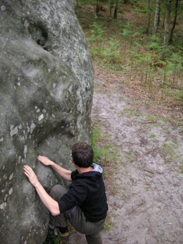 Fontainebleau - Der erste Boulder (05/2009)