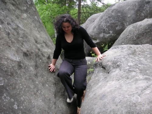 Fontainebleau - Druecken statt Ziehen (05/2009)