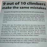 Back - 9 out of 10 climbers make the same mistakes (Dave MacLeod)