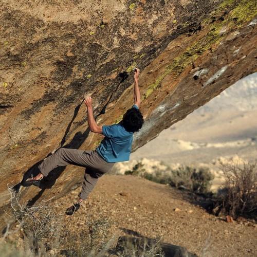 Paul Robinson - Lucid Dreaming V16 (Foto: bishopbouldering.blogspot.com)