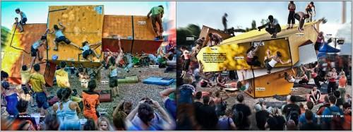 Lizenz zum Bouldern - Bronx Rock Invitational